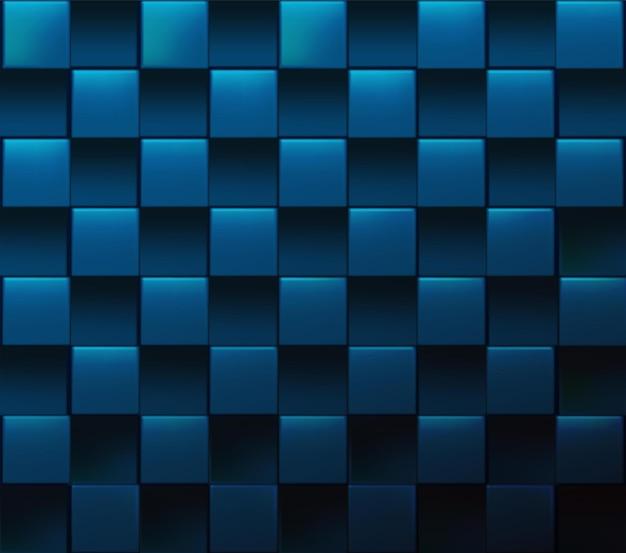 Abstracte vector realistische kubieke achtergrond
