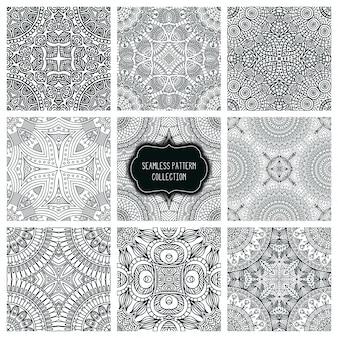 Abstracte vector stammen etnische achtergrond naadloze patroon