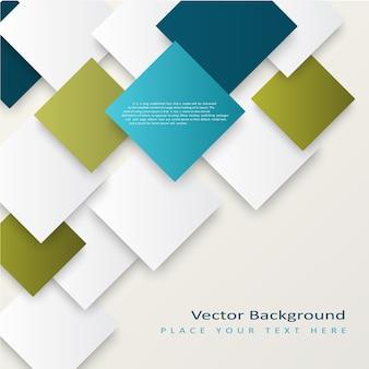 Abstracte vector vierkant achtergrond.