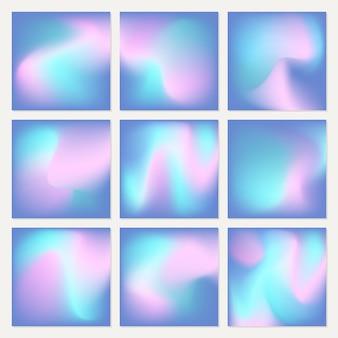 Abstracte vectorachtergronden.