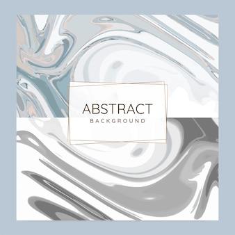Abstracte verf pour achtergrond vector set