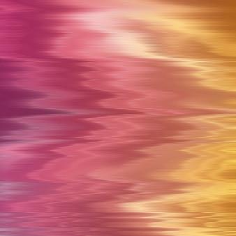 Abstracte vervormde lijnen