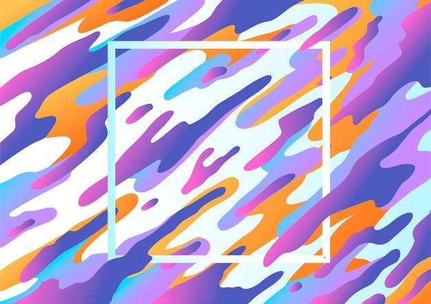 Abstracte vloeibare achtergrond