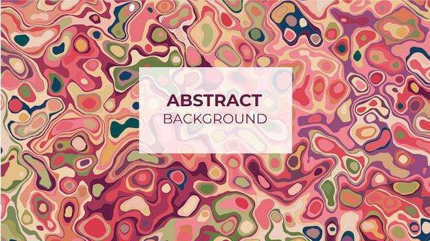 Abstracte vloeibare kleurrijke vormen achtergrond