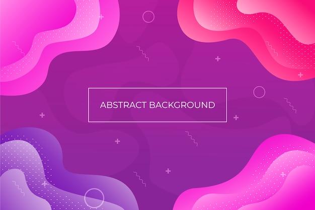 Abstracte vloeibare ontwerpachtergrond