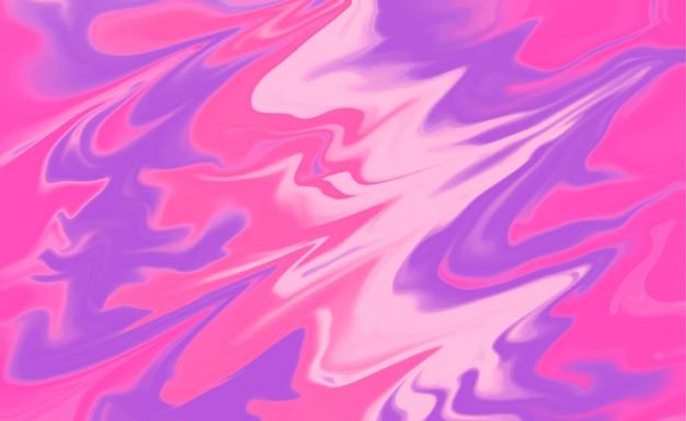 Abstracte vloeibare roze vormenachtergrond Gratis Vector