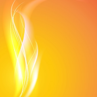 Abstracte vloeiende lijnen