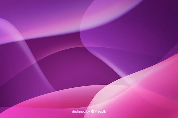 Abstracte vloeiende vormen achtergrondstijl voor de kleurovergang