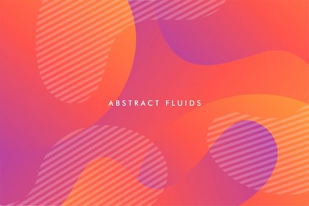 Abstracte vloeistoffen achtergrondsamenstelling
