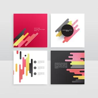 Abstracte vorm reeks van het ontwerp
