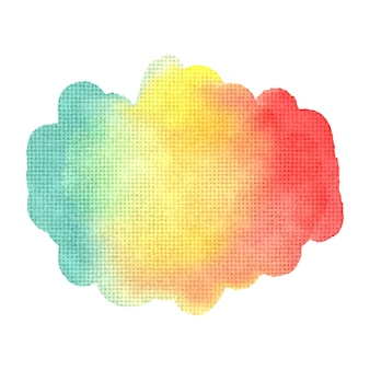 Abstracte waterverfachtergrond voor uw ontwerp.