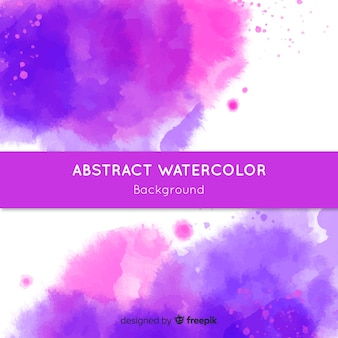 Abstracte waterverfachtergrond