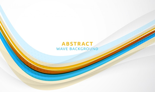 Abstracte wave achtergrond