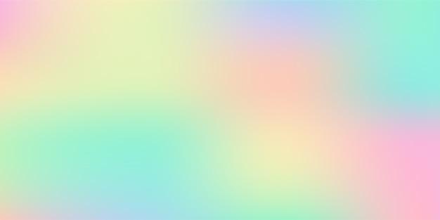 Abstracte wazig pastelkleurige zachte kleurovergang vector achtergrond