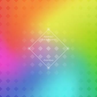 Abstracte wazig verloop mesh achtergrond in heldere regenboogkleuren