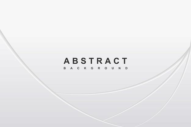 Abstracte witte achtergrond met diagonale golfdecoratie