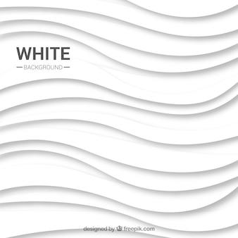 Abstracte witte achtergrond met golvende lijnen