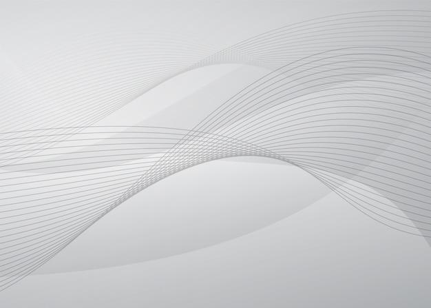 Abstracte witte achtergrond met modern concept