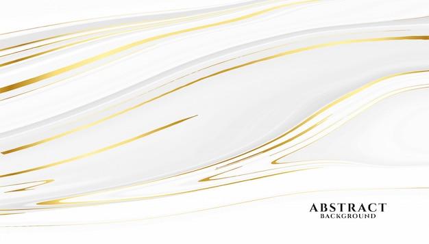 Abstracte witte en gouden marmeren textuurachtergrond