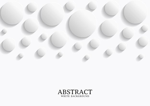 Abstracte witte en grijze cirkel achtergrondstructuur, geometrische achtergrond sjabloon