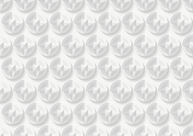 Abstracte witte en grijze geometrische achtergrondstructuur, geometrische achtergrondontwerpsjabloon