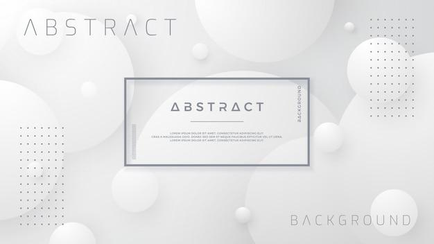 Abstracte witte en grijze gradiëntachtergrond.