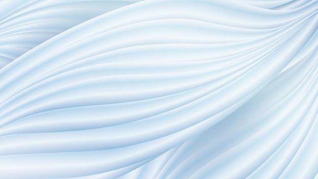 Abstracte witte gladde zachte golf achtergrond
