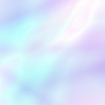 Abstracte zachte holografische achtergrond in pastelkleur lichte kleuren