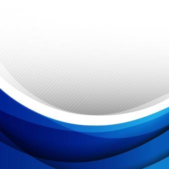 Abstracte zachte kromme als achtergrond en meng met lijn en overlapping