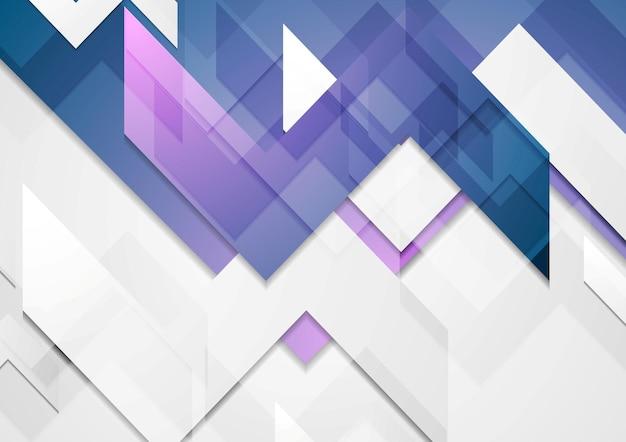 Abstracte zakelijke technische achtergrond. vector geometrisch ontwerp