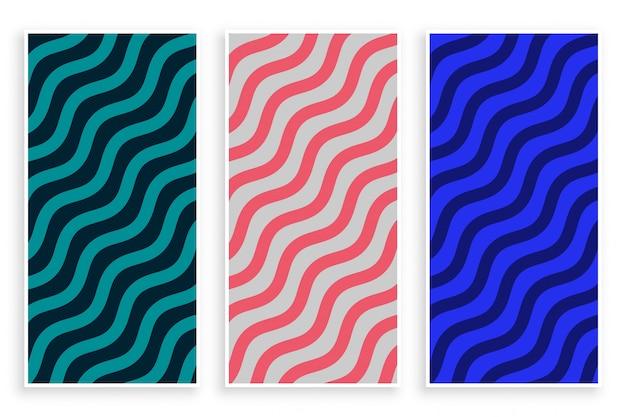 Abstracte zigzag diagonale golfpatroon achtergrond