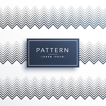 Abstracte zigzag strepen lijn patroon achtergrond