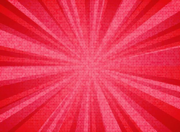 Abstracte zon burst levende koraal kleur patroon achtergrond.