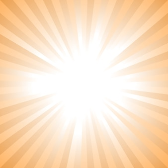 Abstracte zonnestraalachtergrond