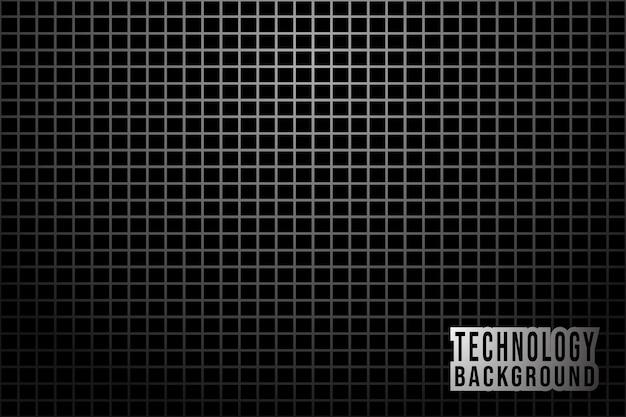 Abstracte zwart-wit achtergrond met metalen raster