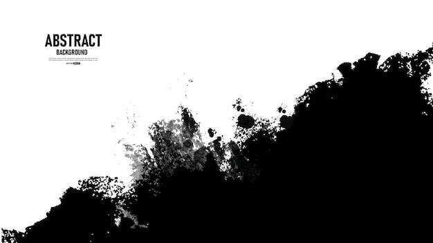 Abstracte zwart-wit grunge textuur achtergrond