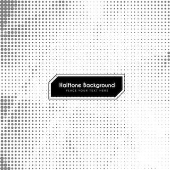 Abstracte zwart-wit halftoon achtergrond ontwerp