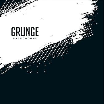 Abstracte zwart-witte grunge halftone achtergrond