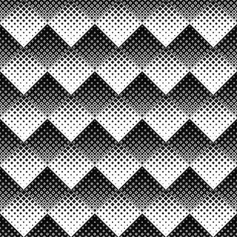 Abstracte zwart-witte vierkante patroonachtergrond