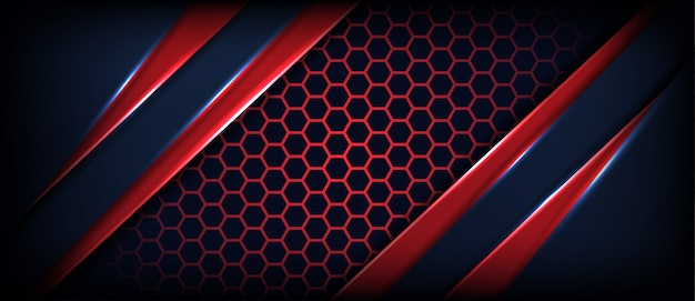 Abstracte zwarte achtergrond met diagonale rode lijnen