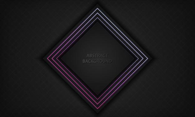Abstracte zwarte achtergrond met gradiëntlin