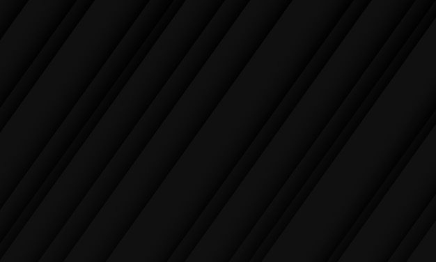 Abstracte zwarte donkere schaduw lijn patroon ontwerp moderne luxe futuristische achtergrond.