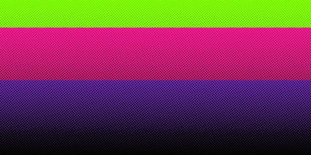 Abstracte zwarte halftone heldere kleurenachtergrond