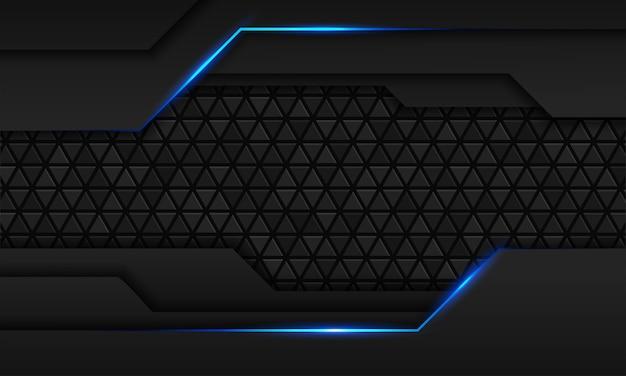 Abstracte zwarte textuur veelhoekige achtergrond