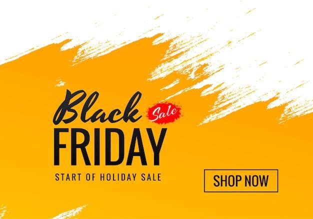 Abstracte zwarte vrijdag verkoop kaart