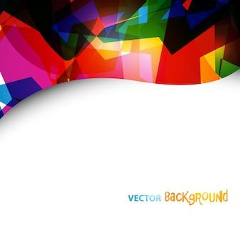 Abstrat eps10 vector kleurrijke ontwerp achtergrond met ruimte voor uw tekst