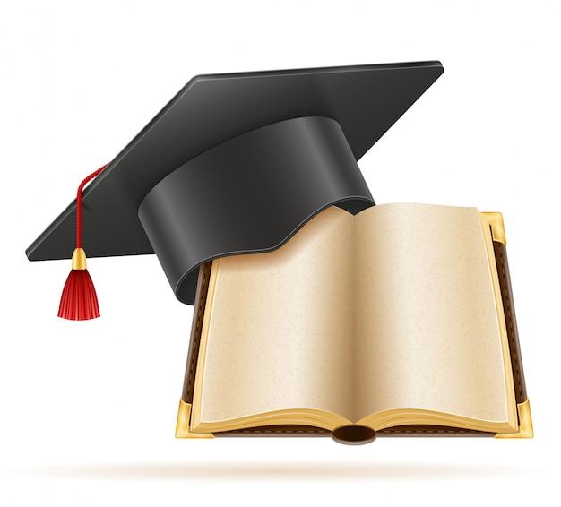 Academische graduatie baret vierkante dop.