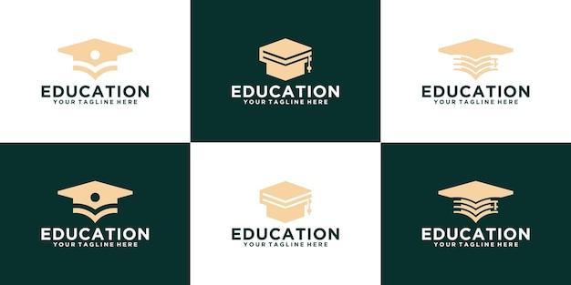 Academy toga logo-collectie voor het onderwijs