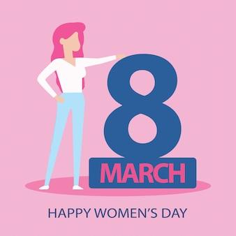 Acht maart vrouwendag