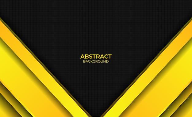 Achtergrond abstract gradiënt helder geel stijl ontwerp